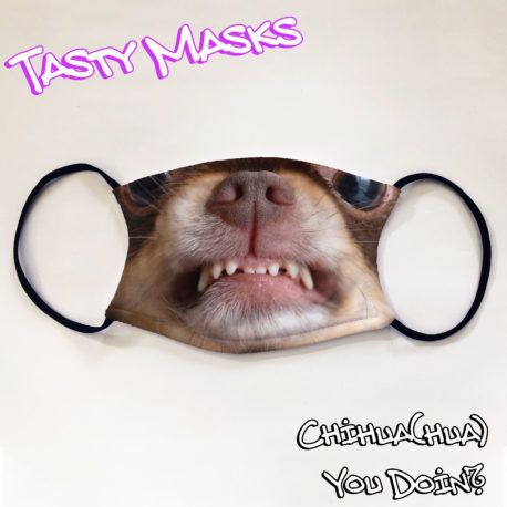 Facemask of Chihuahua dog face